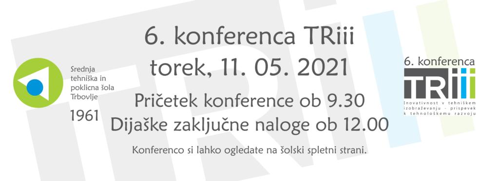 6. konferenca TRiii